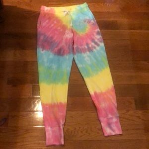 Generation Love tie dye sweatpants
